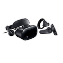 Samsung Hmd Odyssey Windows Mixed Reality Headset with 2 Wireless Controllers (XE800ZAA-HC1US)