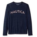 Nautica 诺蒂卡 男士长袖圆领T恤
