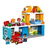 LEGO 乐高Duplo 得宝系列10835我的温馨家庭积木套装