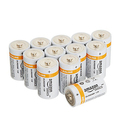 AmazonBasics D Cell Everyday Alkaline Batteries 12-Pack