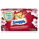 Snuggle Exhilarations Fabric Softener Dryer Sheets 70 Count