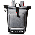 Diesel Men's Scuba Rolltop Backpack, Steel Gray