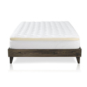 ExceptionalSheets Double Thick Mattress Pad + Memory Foam Topper