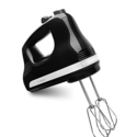 KitchenAid KHM512OB 5-Speed Ultra Power Hand Mixer - Onyx Black