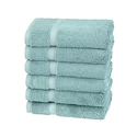 Pinzon Organic Cotton Blended Hand Towels - 6pk