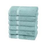 Pinzon Organic Cotton Blended Hand Towels - 6pk