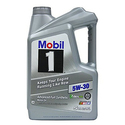 Mobil 1 120764 5W-30 Synthetic Motor Oil - 5 Quart
