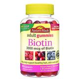 Nature Made Biotin (B7) 3000 mcg. Adult Gummies 90ct