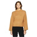Anne Klein Women's Wide Sleeve Mock Neck Sweater