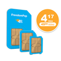 FreedomPop: 1000 texts + 1000 Mins + 1GB Data/Mon