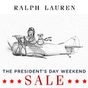 Ralph Lauren President's Day Sale: Extra 30% OFF Select Styles