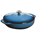 Lodge EC3CC33 Enameled Cast Iron Covered Casserole