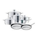 WMF 07 3057 6040 11-Piece Diadem Cookware Set - Silver