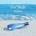 Cool Water By Zino Davidoff for Women. Deodorant Spray 3.4 Oz.