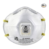 3M 8210V N95 Particulate Respirator - Pack of 80