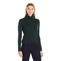 Lark & Ro Women's Cashmere Boxy Turtleneck Sweater