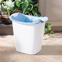 Rubbermaid FG238500WHT 14-Quart Bag Recycler Wastebasket