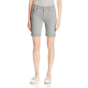 Calvin Klein Jeans Women's Tacked Garment Dyed City Short, Quarry, 27
