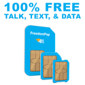 FreedomPop: 100% FREE Talk, Text & Data w/ $0.01 LTE Sim Card