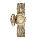 Anne Klein Women's AK/1046CHCV Swarovski Crystal Accented Watch