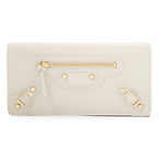 Leather Wallet - White