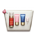 Clarins 4-Piece Double Serum & Multi-Active Essentials Set