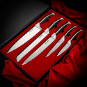 Bluesim 5 Piece Chef's Kitchen Knife Set