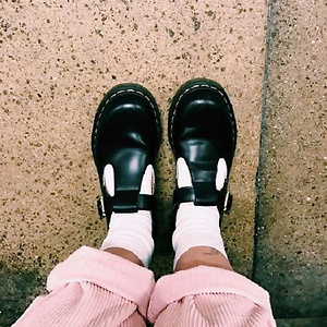 Dr. Martens Polley T-Bar Women's Mary Jane Shoes