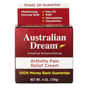 Australian Dream Arthritis Pain Relief Cream - 4 Ounce