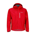 Marmot Minimalist Men's Lightweight Waterproof Rain Jacket, GORE-TEX with PACLITE Technology, Medium, Team Red