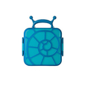Boon 蓝色蜗牛方形便当盒