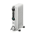 Delonghi KH390715CM Comfort Temp Full Room Radiant Heater, Light Gray