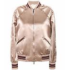 Valentino绸缎外套