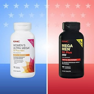 GNC: Men's and Women's Vitamin & Supplement Only $9.99