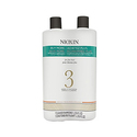 Nioxin System 3 Cleanser & Scalp Therapy Conditioner Treated Hair Set Duo