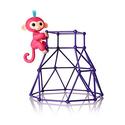 Fingerlings - Jungle Gym Playset + Interactive Baby Monkey Aimee