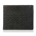 Calvin Klein Men's Logo Embossed Billfold W/ Coin Pocket