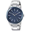 Armani Exchange Men's Dress Silver Watch
