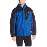 New Balance Men's 2 Tone Laminated Polyester Systems Jacket