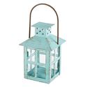 Kate Aspen Vintage Lantern, Blue