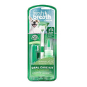 Tropiclean Fresh Breath Plaque Remover Pet Oral Care Kit, Small