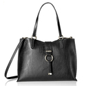 Calvin Klein E/w Novelty Tote, Black/Grey
