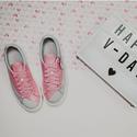 PUMA Basket Platform Valentine Womens Sneakers