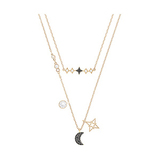 Glowing Moon Necklace Set