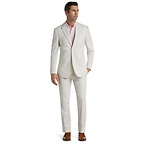Slim Fit Seersucker Stripe Suit
