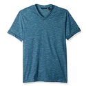Perry Ellis Men's Texture Slub V-Neck Tee Shirt - Medium