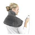 PureRelief Neck & Shoulder Heating Pad with Fast-Heating Technology