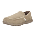 Crocs Men's Santa Cruz Slip-On Loafer - Khaki/Khaki