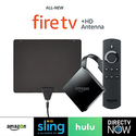 All-new Fire TV  with 4K Ultra HD (2017 Edition, Pendant) + HD Antenna