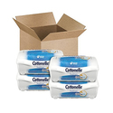 Cottonelle Fresh Care Flushable Cleansing Cloths Refillable Tub ,42 Count (Pack of 4)